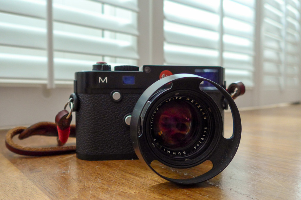 Leica M (Typ 240) with Summilux-M 50mm